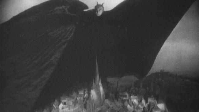 De caligari a Hitler 1 Introduccion - Fotograma de Fausto - Murnau