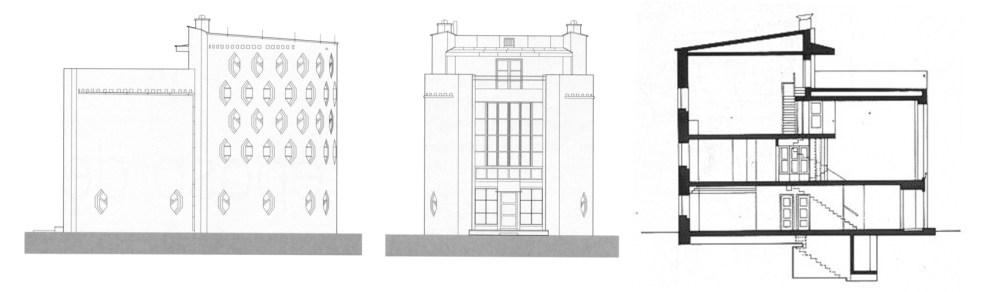 9_Constructivismo_2_Casa_Melnikov_Planos