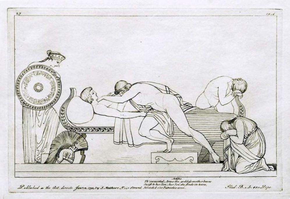 Flaxman Iliada 1795