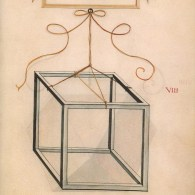 Hexaedro alámbrico