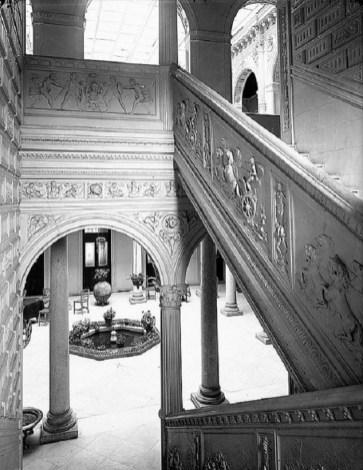 Hotel a comienzos del siglo XX