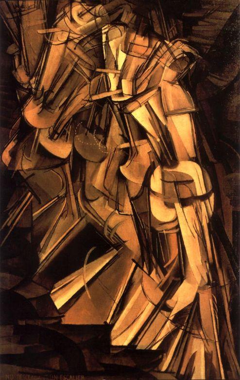 1912. Desnudo bajando una escalera nº2