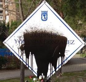 Memoria vandalizada