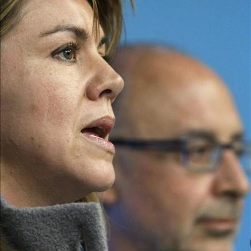 Cospedal considera que hoy es más necesaria que nunca una comisión de investigación. Agencia EFE 30/03/2009