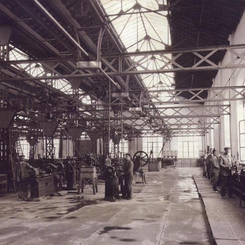 1922. Fábrica de Armas