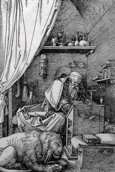 Duero: San Jerónimo en su gabinete. 1511