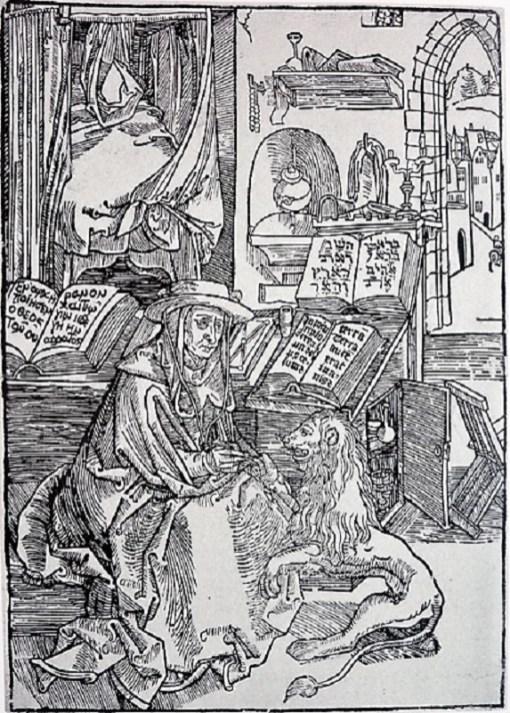 Duero: San Jerónimo y el león: 1492
