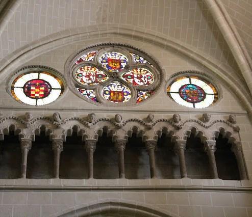 Triforio de la Catedral de Toledo