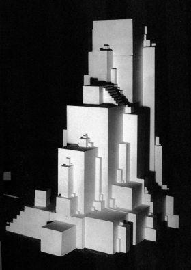 """""""Arkhitekton z"""",Malevich. 1919"""