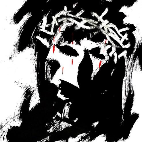 Cristo Sábado Santo Antonio Esteban Hombre de Palo (5)