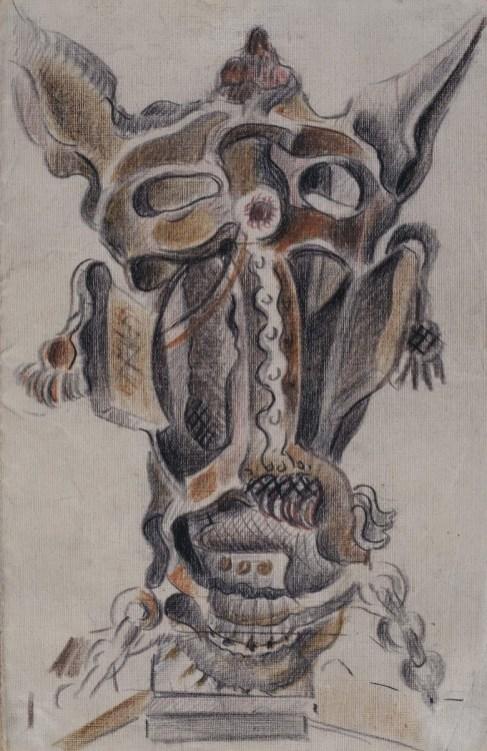 Mascarilla de mula, 1926-1930. @Museo Reina Sofía.