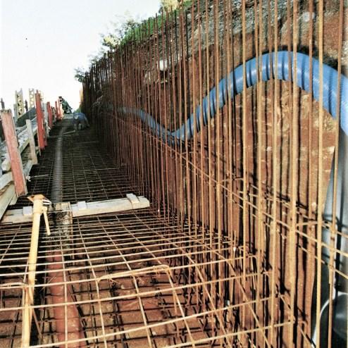 Desarrollo de la obra. Imágenes de la publicación: El acceso al Caso Histórico del Nuevo Milenio.