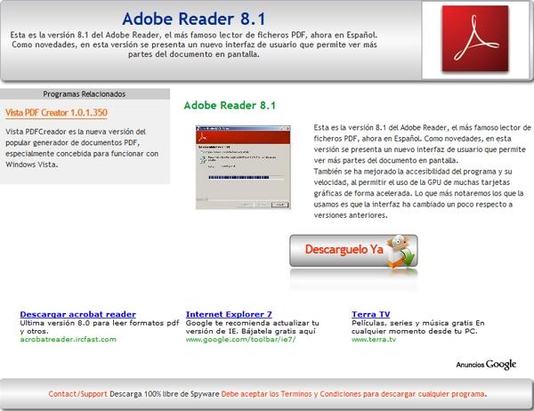 descargar adobe pdf reader gratis