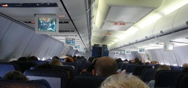 Asientos en un avión