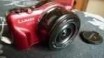 Panasonic Lumix DMC-GF3X sin la cubierta de la lente