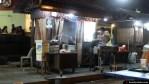 Puesto de comida en el satay market