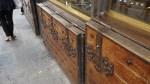 Detalle de puertas y portillos en las tiendas del Ponte Vecchio