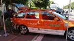 Preparando el coche del equipo Euskaltel Euskadi