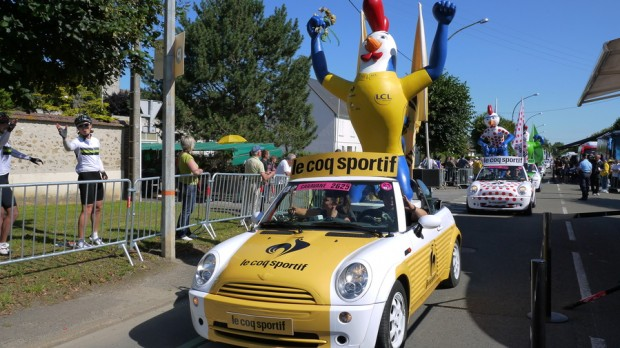 Le coq de Le Coq Sportif