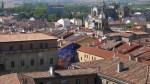 La ciudad de Vitoria con sus contrastes