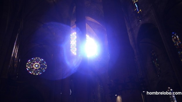 Juegos de luces en la Catedral de Palma de Mallorca II