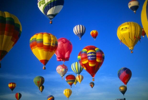 El mayor festival de globos aerostáticos del mundo, fabuloso Albuquerque