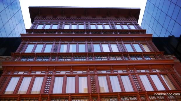 Vista frontal del Hotel Barceló Oviedo Cervantes