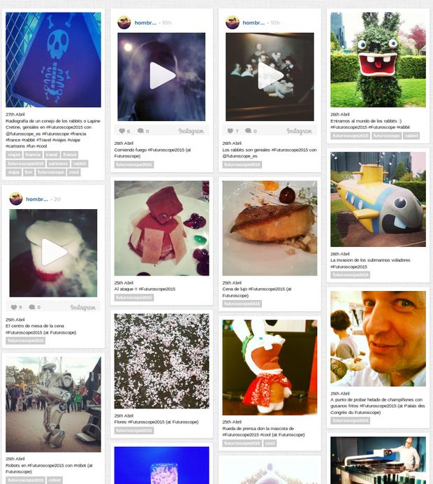 Postales de Futuroscope