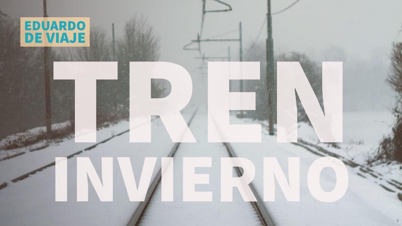 INVIERNO en tren: Viaje en tren desde la cabina en Noruega línea Nordlandsbanen 10 horas