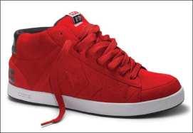 Converse roja