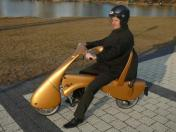 MOVEO: una scooter eléctrica y plegable