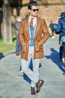 moda en la calle, otoño en camel (1)