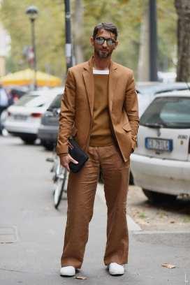 moda en la calle, otoño en camel (3)