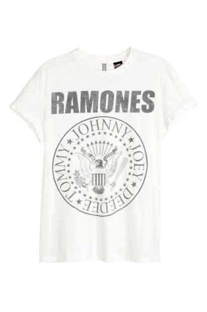 camiseta-hm-ramones