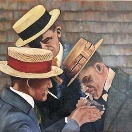 men in hats instagram