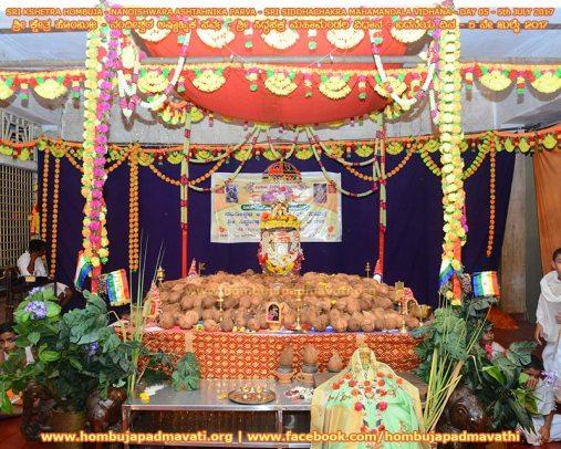 Humcha-Hombuja-Jain-Math-Siddhachakra-Mahamandala-Vidhana-2017-Day-05