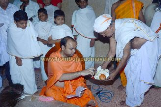 Hombuja-Jain-Math-Humcha-Navarathri-Dasara-Celebrations-Pooja-Day-07-0020