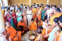 Humcha-Hombuja-Jain-Math-Rathotsava-Day-05-Guddada-Basadi-Parshwanath-Tirthankar-Abhisheka-0019
