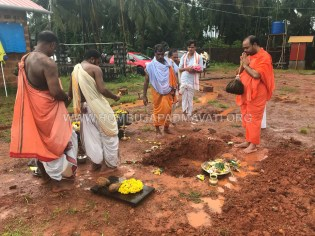 Hattiangadi Chandranath Swamy Temple Renovation Bhoomi Pooja