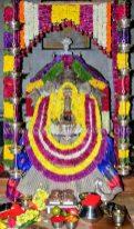 Hombuja-Humcha-Jain-Math-2019-Rathotsava-Simhavahanotsava-0004-Goddess-Padmavati-Decoration