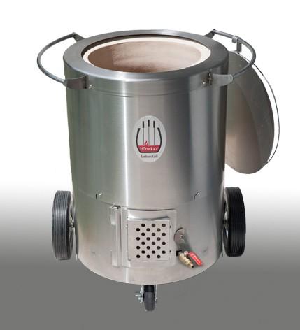 Hōmdoor Propane Stainless Steel Outdoor Tandoor Oven - 2