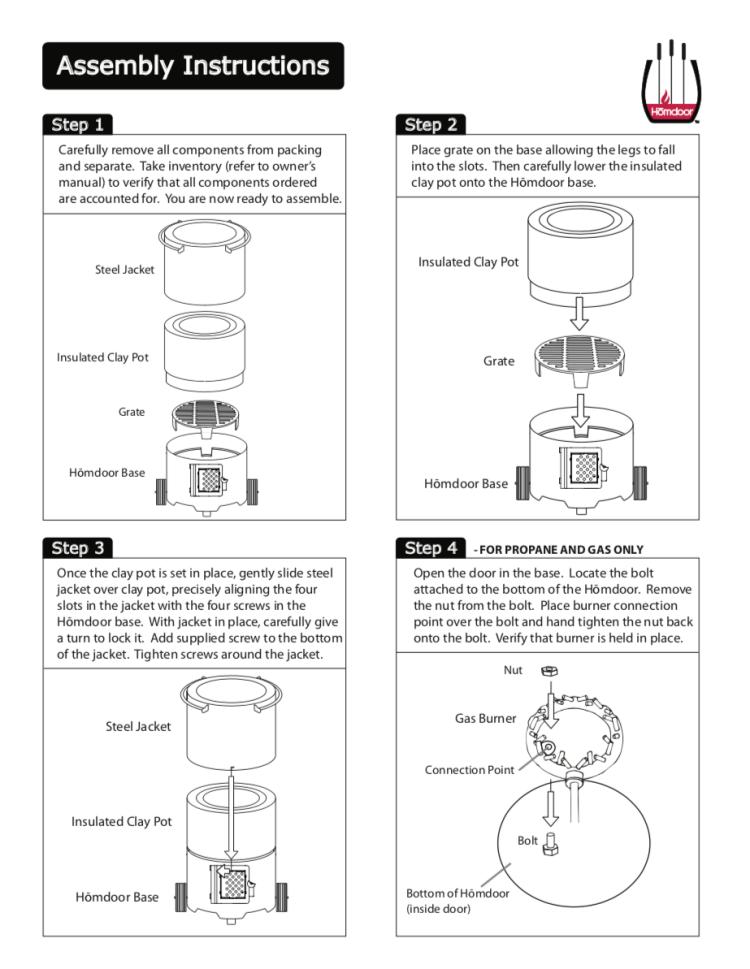 Homdoor-Assembly-Instructions