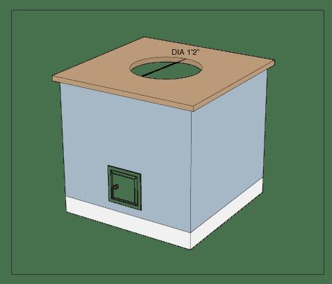 Homdoor-custom-tandoor-install-step5