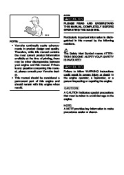 Yamaha EF1000iS Generator Owners Manual