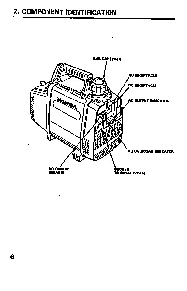 Honda Generator EX350 Owners Manual
