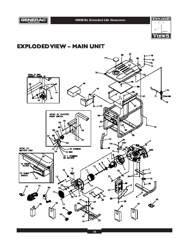 GENERAC GENERATOR REPAIR MANUAL 09592 Auto Electrical