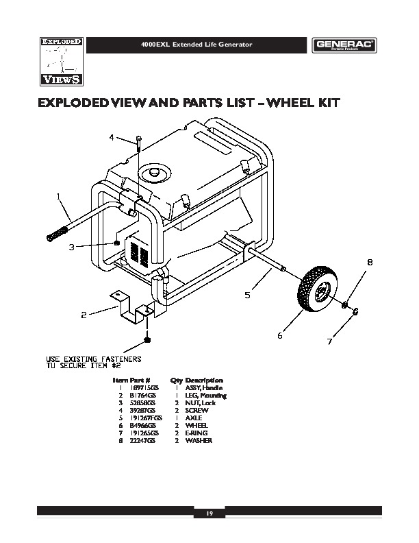 GENERAC OWNERS MANUAL 15KW - Auto Electrical Wiring Diagram
