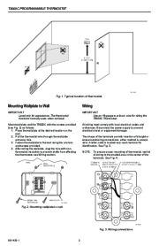 Honeywell T8000C Programmable Thermostat Installation