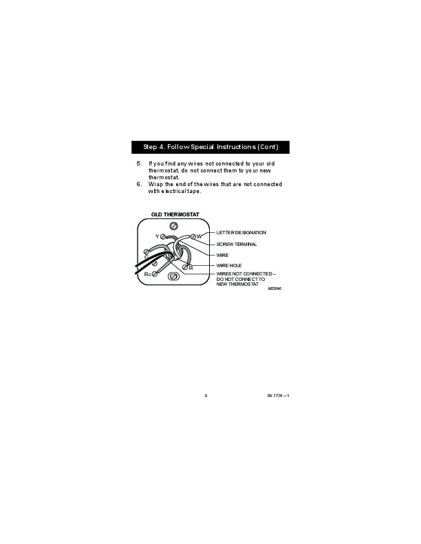 Honeywell RTH7400D Programmable Thermostat Owners Guide