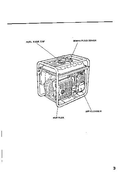 Honda Generator EB3000 EB4000 Owners Manual